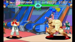X-Men vs Street Fighter (PSX) - Longplay