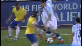 Argentina 1 Brasil 1 (Relato Ale Mangiaterra)  Eliminatorias a Rusia 2018