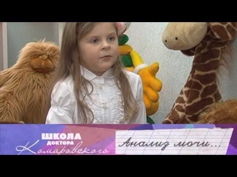 В моче у ребенка повышены эритроциты