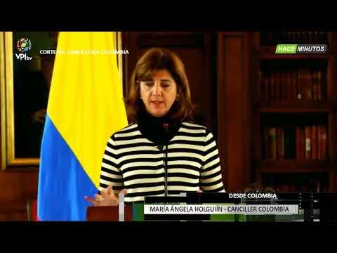 Colombia - Canciller de Colombia reitera el no reconocimiento de elecciones en Venezuela - VPItv