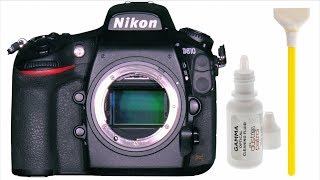 Sensor Cleaning Nikon Full Frame DSLR DIY