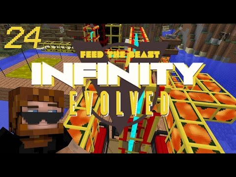 Minecraft: FTB Infinity Evolved - Ep.24 - Oil Refinery