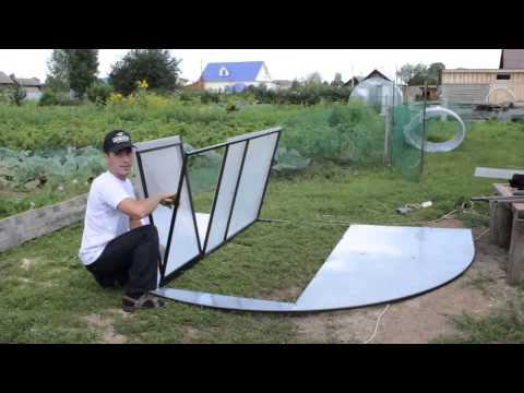 видео: Сборка теплицы из поликарбоната Новатор Премиум