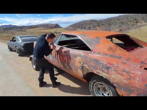 dirt cheap 1968 charger project, general lee rescue, 66 mustang barnfind roadkill ratrod roadtrip!
