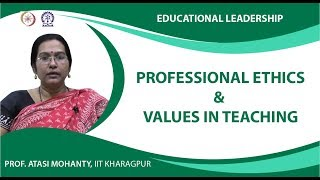Professional Ethics & Values in Teaching Completed