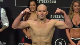 Fight Night Stockholm: Weigh-in Highlights