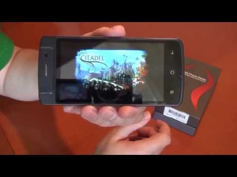 T908 - телефон с вращающейся камерой (распаковка)