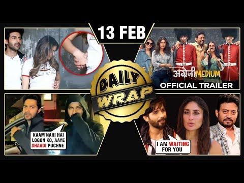 Sara Kartik ROMANCE, Angrezi Medium Trailer, Varun On Marriage With Natasha | Top 10 News