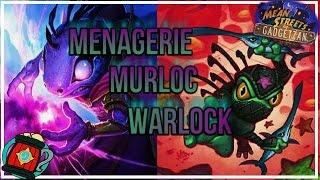 Hearthstone : Deck Tech Menagerie/Zoo Murloc Warlock Deck Mean Streets of Gadgetzan