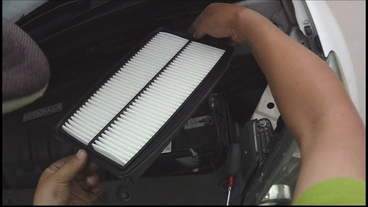 Delicieux [Autos] How To Replace 2006 Honda Odyssey Engine Air Filter   YouTube