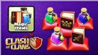Where is magic items in new update of 2019 ||clash of clans
