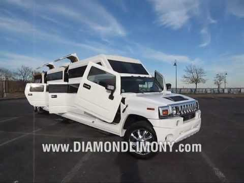Thumbnail: EXOTIC Hummer H2 Transformer - ONLY @ Diamond Limo NY