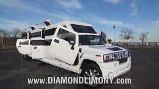 EXOTIC Hummer H2 Transformer - ONLY @ Diamond Limo NY thumbnail