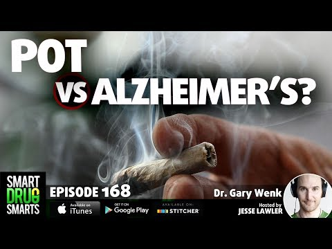 Episode 168 - Marijuana vs. Brain Inflammation with Dr. Gary Wenk