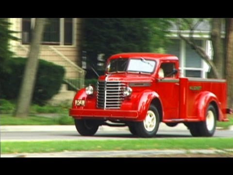 1946 Diamond T Pick Up Truck We Go For A Ride In A Model 201