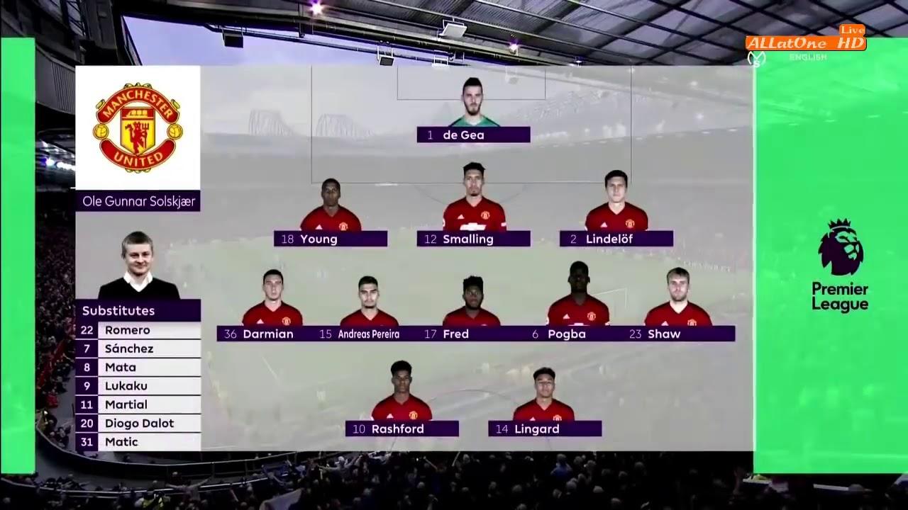 Higlight  manchester united 0 vs 2 manchester city lanjutan premier league 2018/2019