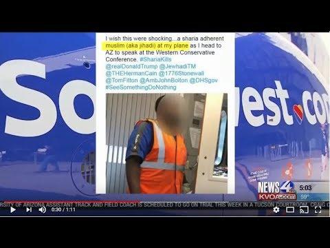 CAIR Video: Southwest Airlines Condemns John Guandolo's Anti-Muslim Tweet Targeting Employee