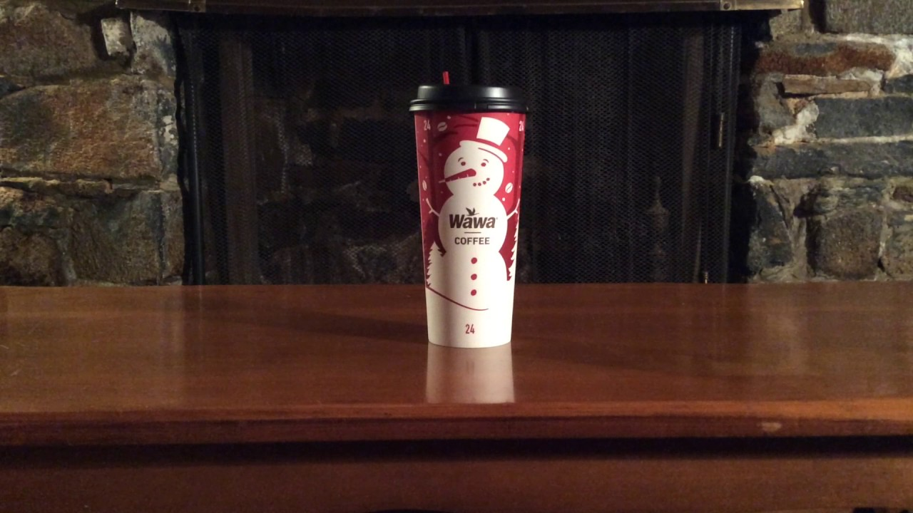 WAWA New 2016 Christmas Coffee Cup - YouTube