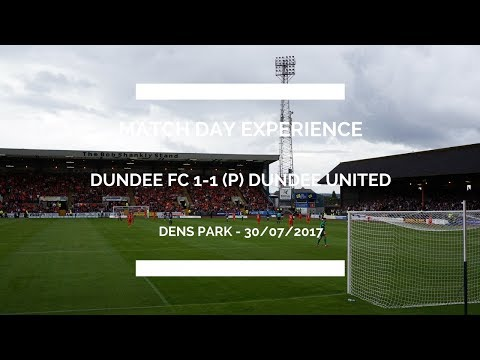Groundhop at Dens Park - Dundee FC v Dundee United - UNBELIEVABLE LOCAL DERBY!