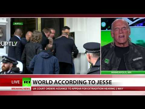 Jesse Ventura defends Assange, attacks Bush and Cheney