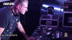 DJ GEORGE'S at Les Dentelles Electroniques Festival 17/08/2019