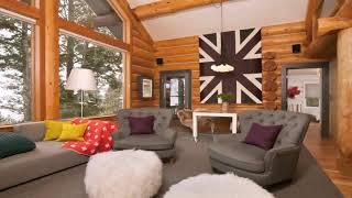 Log Home Kitchen Decorating Ideas