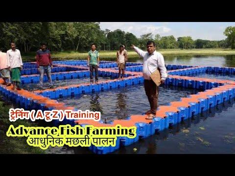 Fish Farming In India | मछली पालन की एडवांस ट्रेनिंग | Fish Farming Training | @ Fish Farming