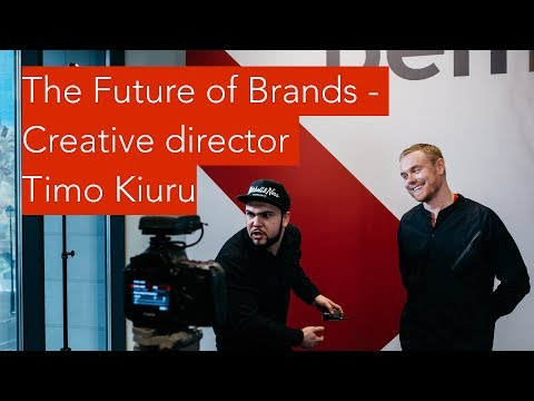 Creative Director Timo Kiuru Keynote BEMA Festival Moscow 2018: The Future Of Brands