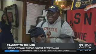 New Jersey Teen Once Homelessness Accepted At 18 Colleges, Lands Dream Pick