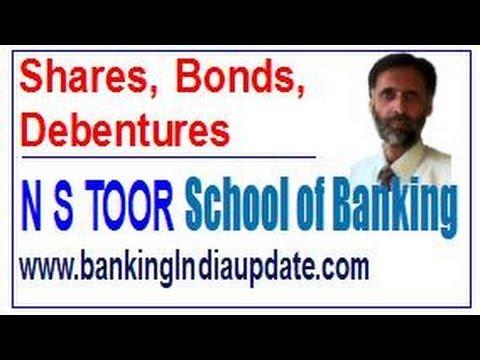 Shares Debentures Bonds