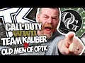 CALL OF DUTY WWII: TEAM KALIBER vs OLD MEN OF OPTIC!!
