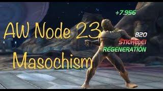 MCOC - AW Season 3 - Stark Spider-Man vs Killmonger - masochism node 23