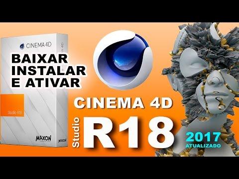 COMO FAÇO PARA BAIXAR E INSTALAR CINEMA 4D R18