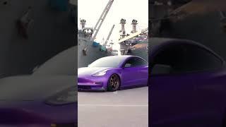 Tesla purple