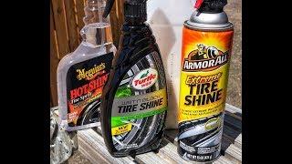 Best tire shine at retail level! (The SHOWDOWN)