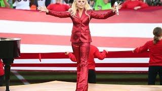 Lady Gaga Superbowl National Anthem (HD)
