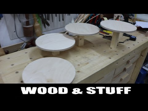 Building a wedding cake stand - Part 1
