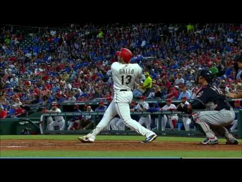 Joey Gallo 443 ft Home Run: 4/4/17