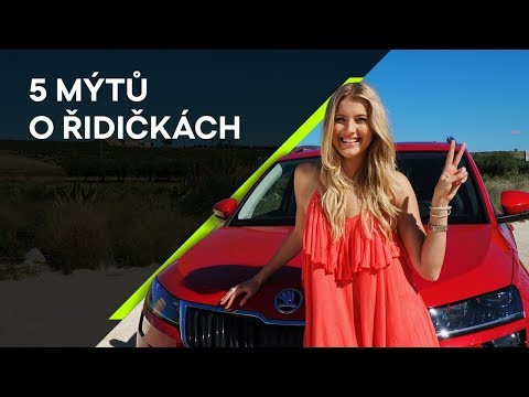 ŠKODA a Jitka Nováčková vyvrací: 5 předsudků o ženách za volantem