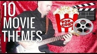10 Popular Movie Themes - Guitar Lesson ( With Tabs )