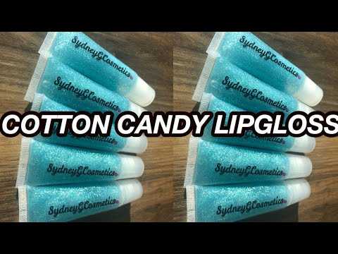 DIY Cotton Candy Lipgloss & Updated Giveaway!