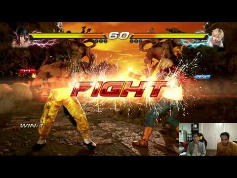 Tekken 7: Jin Jeddah (Law) vs Masa (Leo) [F.T.10 Casual Match]
