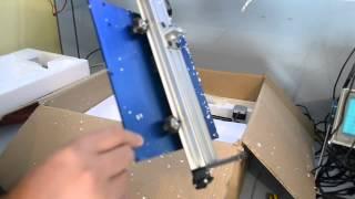 Robotronics Ordbot Hadron 3d Printer Unboxing