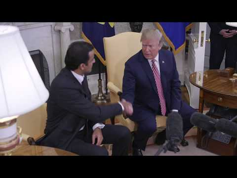 President Trump Welcomes the Amir of the State of Qatar