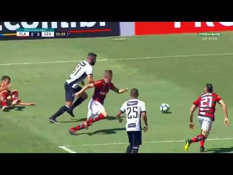 Flamengo 0 x 1 Ceará  Melhores Momentos e Gol COMPLETO HD Campeonato Brasileiro 02 09 2018