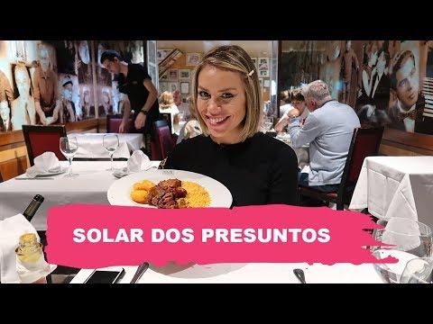 RESTAURANTE FAMOSO - SOLAR DOS PRESUNTOS  Go Deb em Lisboa  Go Deb