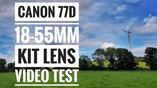 Canon 77D W/ 18-55mm Kit Lens - Video Sample