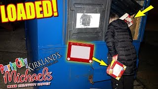 MICHAELS LEFT THEIR DUMPSTER LOADED! + PARTY CITY HAUL! NIGHT #281