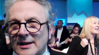 George Miller red carpet interview 20.11.11 Happy Feet Two Premiere