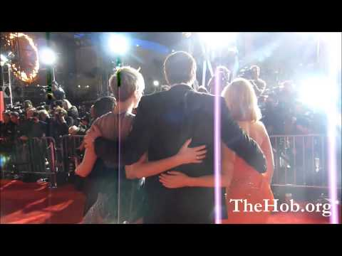 Catching Fire LA Premiere Red Carpet with Jennifer Lawrence & Suzanne Collins
